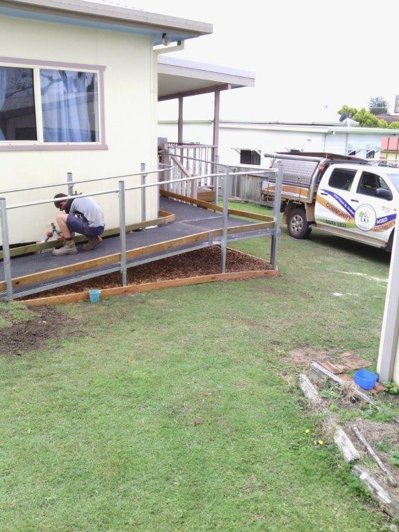 CVHMMS Home Ramps and Handrails