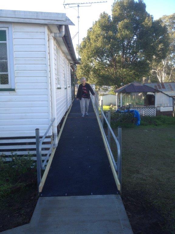CVHMMS Home Ramp